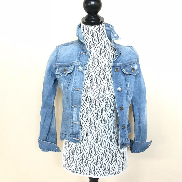 Rubbish Jackets & Blazers - Distressed denim jacket